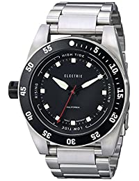 Electric Men's EW0140010001 DW03 Stainless Steel Band Analog Display Swiss Quartz Silver Watch