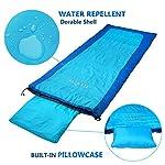 Campla Sleeping Bag 3 4 Season Waterproof Portable Lightweight Backpacking Envelope Sleeping Bags For Kids Adults Camping Traveling Hiking Outdoor Activities