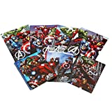 Marvel Avengers Spiral Notebook and Folder 7 Piece School Supply Set