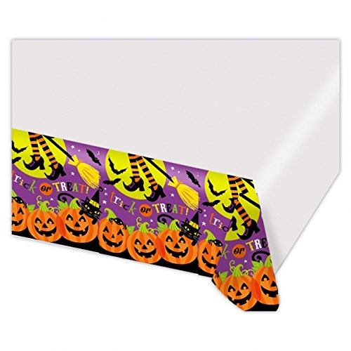 Witches' Crew Plastic Party Tablecover