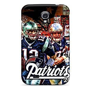 High Quality ECH232GCbV New England Patriots Tpu Case For Galaxy S4