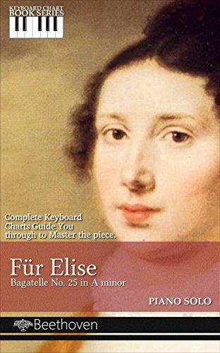 Für Elise Bagatelle No. 25 in A minor (Keyboard Chart Book series 2) ()