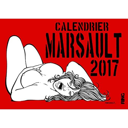 Calendrier Marsault 2017 (French Edition)