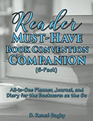 Reader Must-Have Book Convention Companion (6-Pack): All-in-One Planner, Journal, and Diary for the Bookworm on the Go