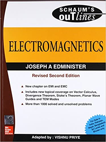Buy Electromagnetics Schaum S Outline Series Book Online At Low