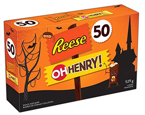 Hershey Halloween Chocolate Assortment, 50 Count