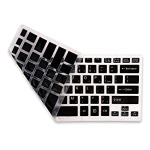 Iunio Silicone Soft Keyboard Protector For SONY VAIO FIT 14 14E 14A series.USA English Layout