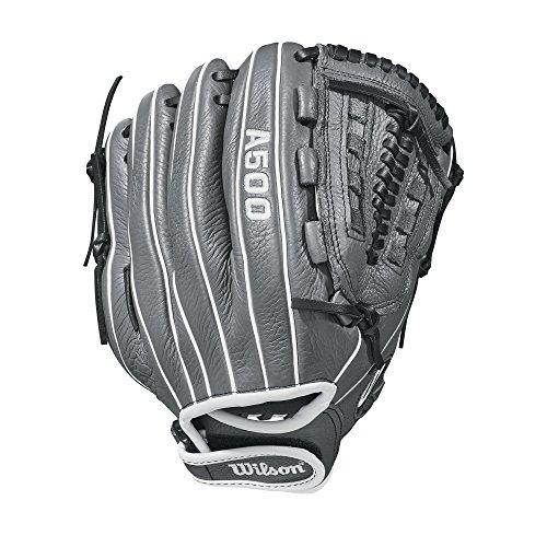 Wilson 2018 Siren Gloves - Right Hand Throw Graphite/White, 11.5