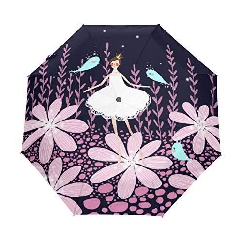 Mr.Lucien Q Version Cartoon Creative Design Umbrella Travel