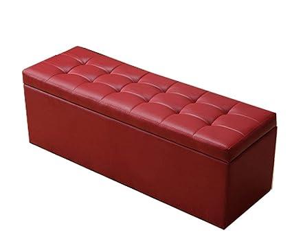 ChFei Tienda de Ropa Banco de sofá Rectangular, Banco de ...