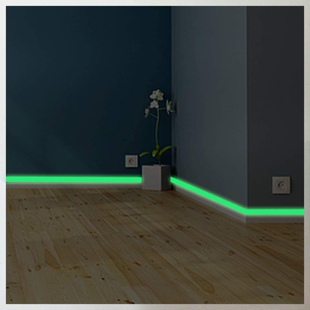 Luminous band baseboard Wall Sticker Every Room Eco-friendly home decoration