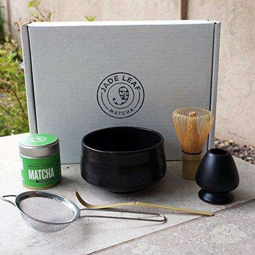 Jade Leaf - Complete Matcha Gift Set - Organic Matcha Green Tea Powder - Classic Ceremonial Grade