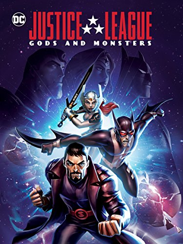 DVD : Justice League: Gods & Monsters
