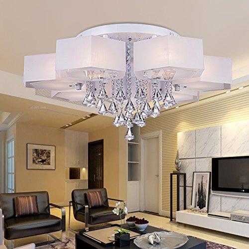 Led Decke Lampe Farbwechsel Kristall Lampe Farbe Fernbedienung