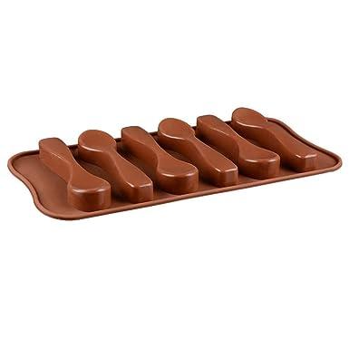 Longay - Molde de silicona para hornear cucharas de ...
