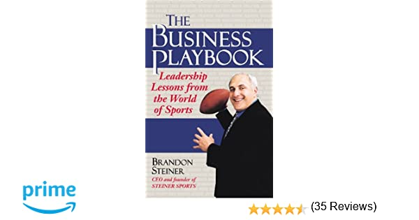 Amazon.com: The Business Playbook: Leadership Lessons From the ...