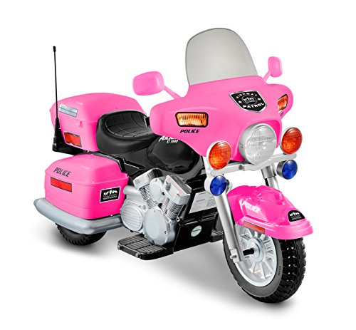 Kid Motorz 12V Patrol H. Police Ride On, Pink