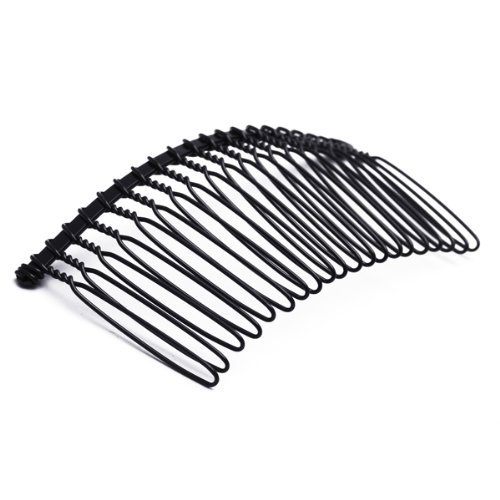 TOOGOOR 10pcs Hair Comb Pin Black Accessories Iron Women Lady Vintage Fashion New