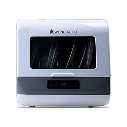 Wonderchef Countertop Dishwasher White Amazon In Home Kitchen