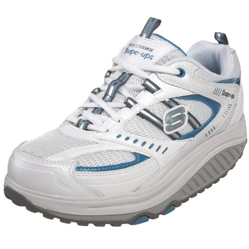 Scarpe Da Ginnastica Per Donna Forma Sneaker Motivazione Turchese Bianco