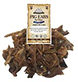 Cheap White Tail Naturals All Natural Pig Ear Strips Dog Chews (1 Pound Pack) Hormone Free, Pork Treats | Easy to Digest | Helps Clean Teeth and Gums | USDA Approved