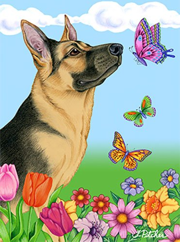 German Shepherd Garden Flag - 6