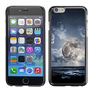 LECELL -- Funda protectora / Cubierta / Piel For Apple iPhone 6 Plus 5.5 -- Space Planet Galaxy Stars 49 --