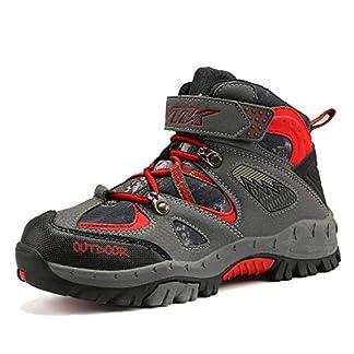 Junyoe Unisex Kids Kids Hiking Shoes 10