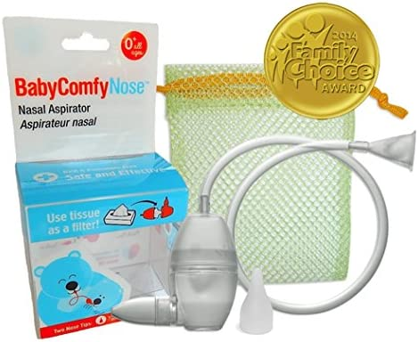 Baby Safety & Health Baby Comfy Nose Nasal Aspirator Newborn Infant Bpa Phthalate Free New
