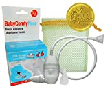 BabyComfy Nasal Aspirator -- The Snotsucker -- Hygienically & Safely Removes Baby's Nasal Mucus – Clear
