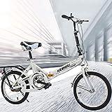 KimBird 20 Inch Folding Bicycle,Mini Compact Bike