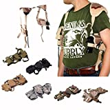 Outdoor Adjustable Military Tactical Gun Holster Cross Draw Hand Gun Shoulder Holster Bag Pouch