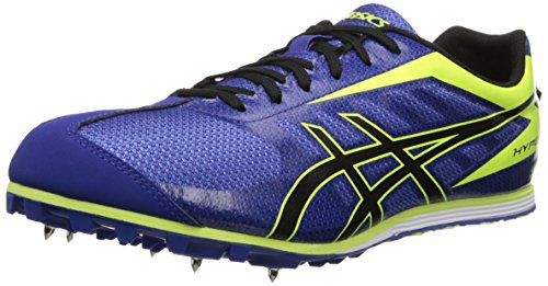 ASICS Men's Hyper LD 5 Track And Field Shoe,Deep Blue/Onyx/Flash Yellow,8.5 M - Track Ld