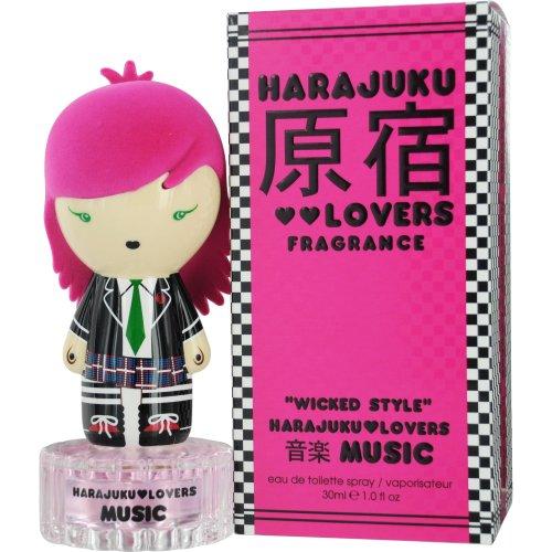 Gardenia Toilette Peony De Eau (Harajuku Lovers Music Wicked Style Eau De Toilette Spray, 1-Fluid Ounce)