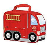 Thermos Insulated Firetruck Novelty Boys Lunch Kit Bag