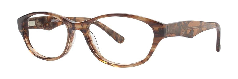 VERA WANG Eyeglasses V353 Brown 51MM