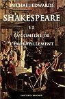 Shakespeare et la comédie de l'émerveillement par Edwards