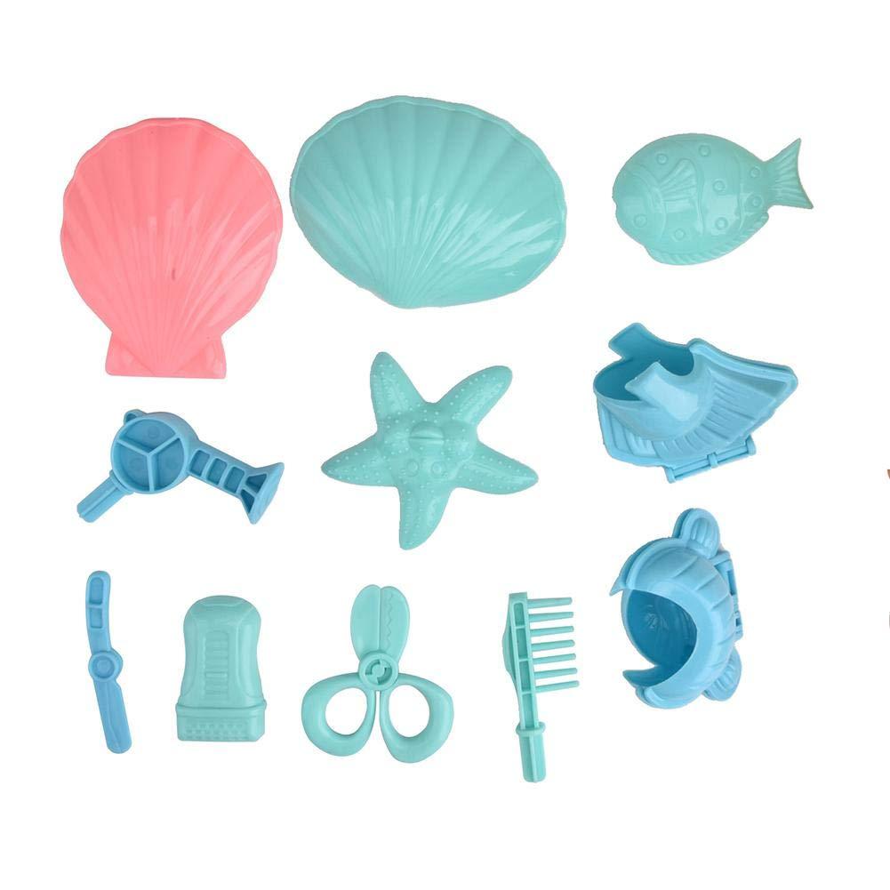 Drfeify Plasticine Clay, Lovely DIY Tool 1 Set of Mold Toy Kid Educational Mold Toy DIY Set