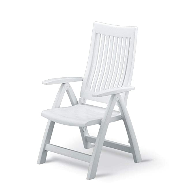 Kettler Roma Resin High Back Chair – The Easy-to-Store Patio Chair