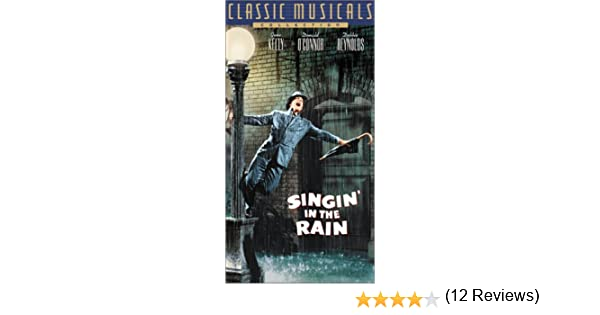Singin in the Rain [USA] [VHS]: Amazon.es: Cine y Series TV