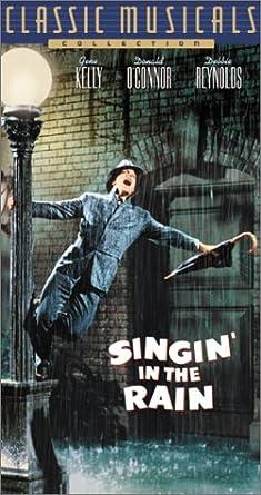 Singin in the Rain [USA] [VHS]: Amazon.es: Cine y Series TV