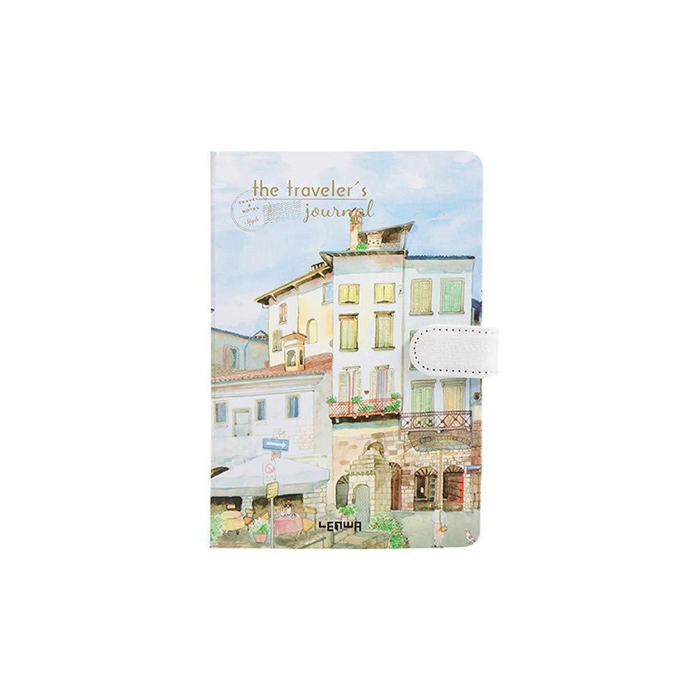 YWHY Cuaderno Espesar De El Lado De Espesar Color De Los Efectos De Escritorio Del Cuaderno Del Libro Del Diario Libro Para Colorear Del Libro De La Página, B 304c92