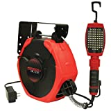ATD Tools 80165 64-SMD LED Work Light with 50-Feet Retractable Reel