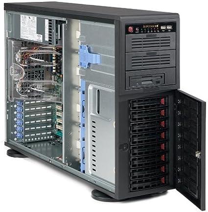 Supermicro SuperChassis 745TQ-R920B Torre Negro 920 W - Caja de Ordenador (Torre, Servidor, Metal, Negro, ATX,EATX,Micro ATX, 4U): Amazon.es: Informática