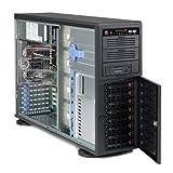 Supermicro SuperChassis CSE-745TQ-R920B - 4U Twr Bb Black Dp 8X Sas/sata 920W Rps Sas Backplane