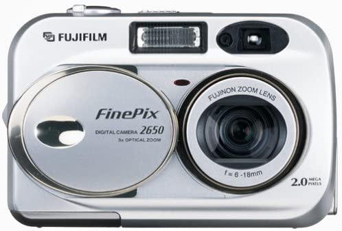 Fujifilm FinePix 2650 Cámara Digital de 2 MP con Zoom óptico ...