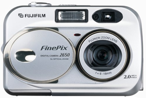 Fujifilm FinePix 2650 2MP Digital Camera w/ 3x Optical ()