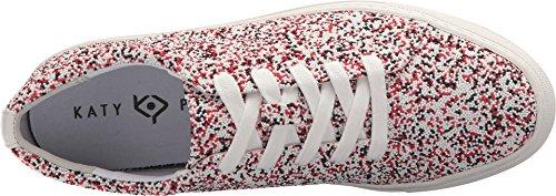 Katy Perry Women's The Sprinkle Sneaker, Red/Multi, 8.5 Medium US