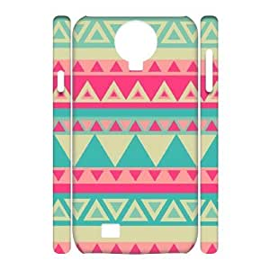 Aztec Tribal Pattern Brand New 3D Cover Case for SamSung Galaxy S4 I9500,diy case cover ygtg537732