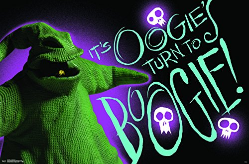 Trends International Wall Poster The Nightmare Before Christmas Oogie Boogie, 22.375
